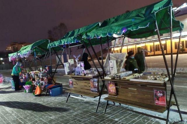На площади 400-летия Тюмени откроют вторую праздничную ярмарку