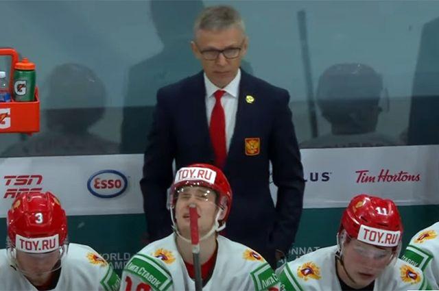 Игорь Ларионов и молодежная сборная.