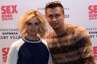 Павел Прилучный с супругой актрисой Агатой Муцениеце-Прилучной.
