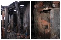 Дом под Ялуторовском, где погибли трое детей, загорелся из-за печи
