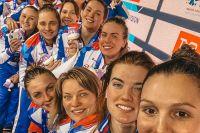 Сборная России по водному поло  -  серебряный призёр чемпионата Европы 2020.