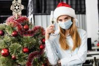 Минздрав ожидает роста заболеваемости COVID-19 из-за зимних праздников.