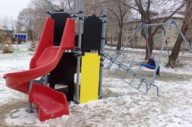 В Тобольском районе в 2021 году построят игровые площадки для детей
