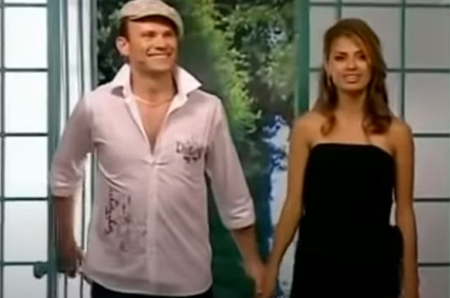 Баянист Павел и Виктория Боня.