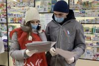 Волонтеры развозят воронежцам лекарства.