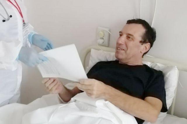 Дмитрий Чупринский один из немногих, кто смог выздороветь после 100% поражения легких.