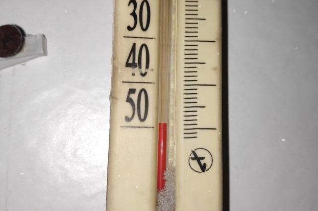 В Новосибирск и районы области пришло резкое похолодание до -40 градусов. В некоторых районах похолодало до 50 градусов мороза.