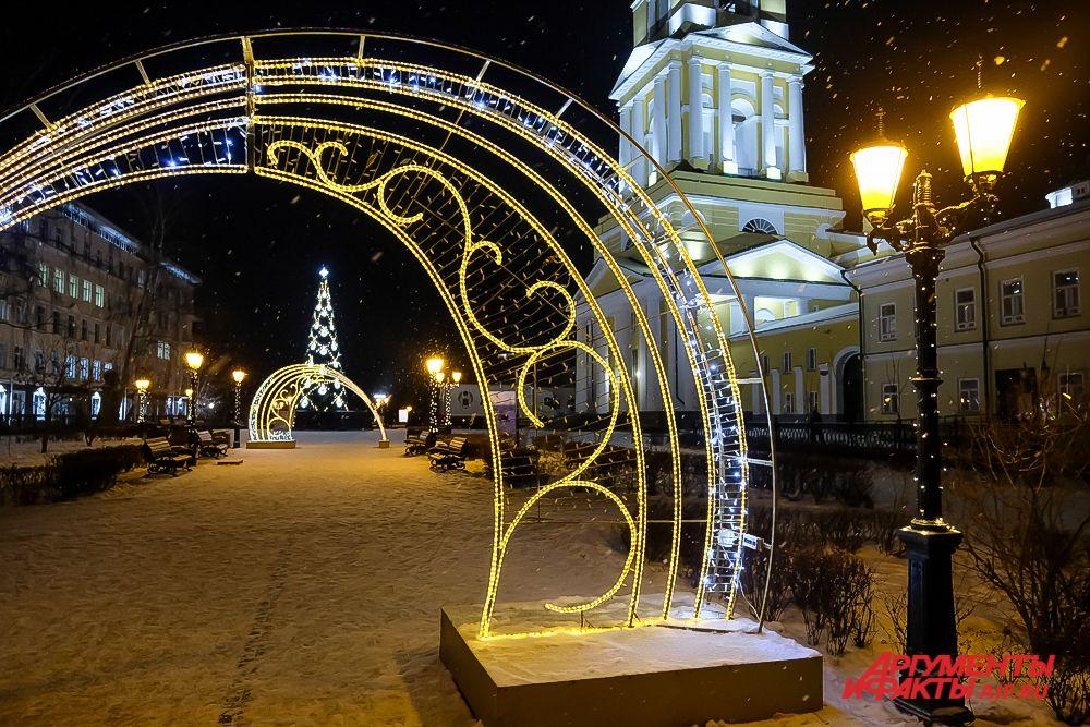 Пермь новогодняя-2020.