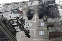 Пожар на улице Березовской