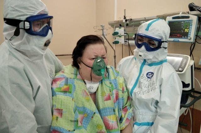 Спасенная от коронавируса жительница Кимр задыхается до сих пор