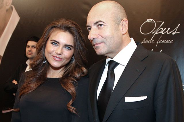 Игорь Крутой с дочерью Викторией.