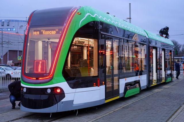 В январе в Калининграде будут испытывать трамвай «Корсар»
