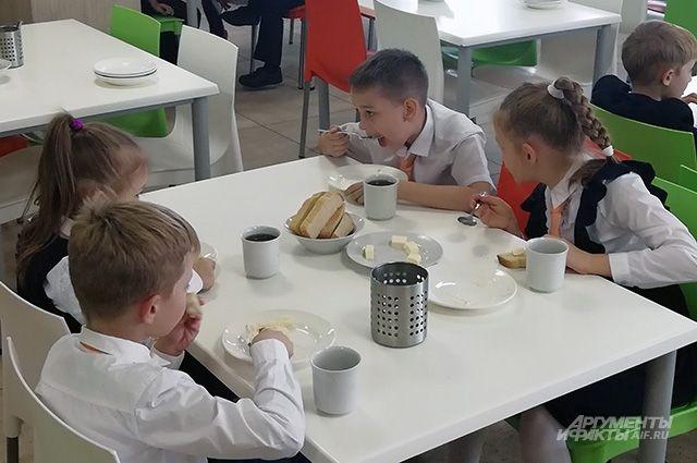 Горячим питанием были обеспечены все ученики с 1 по 4 класс