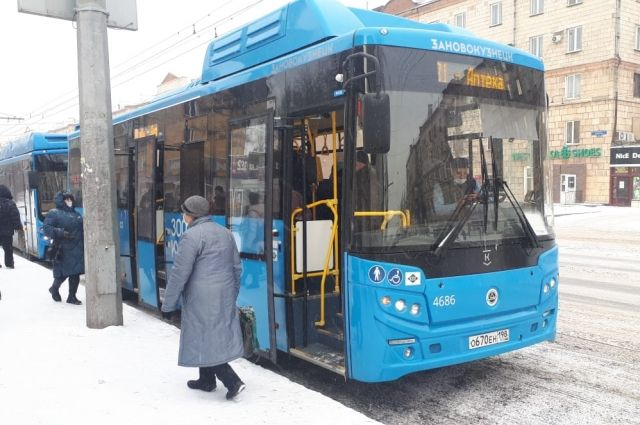 Главный перевозчик в Новокузнецке с 18 ноября - компания «ПитерАвто».