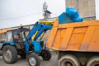 Машины не справляются с вывозом мусора в мороз