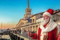 Николая Коновальчука в Сочи называют «народным Дедом Морозом».