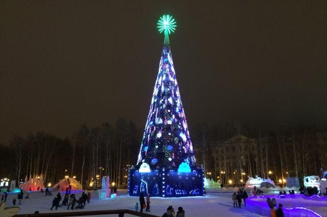Новогодний Ханты-Мансийск