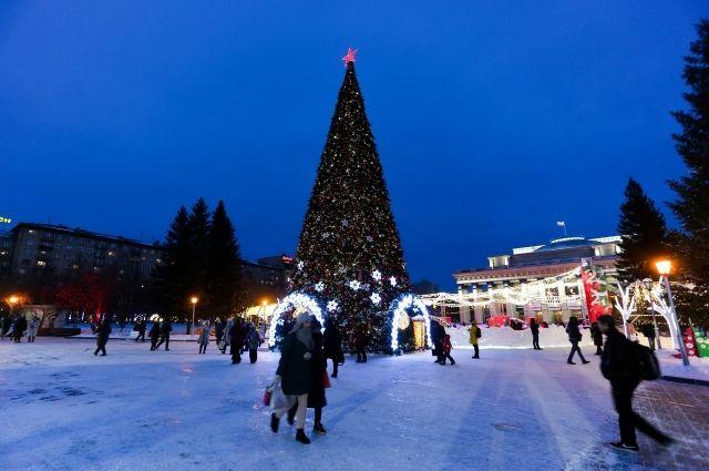 Театральный сквер Новосибирска вновь готов принимать гостей после аномальных морозов