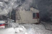 Пожар произошел 29 декабря