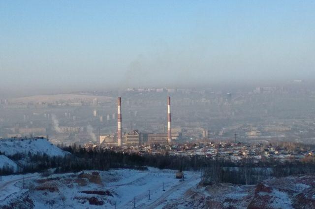 Режим «черного неба» начал действовать в городе с 26 декабря.