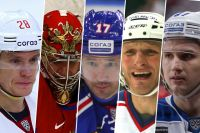 Александр Семин, Евгений Набоков, Илья Ковальчук, Дарюс Каспарайтис, Вадим Шипачев.