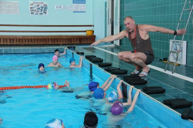 Ремонт бассейна в викуловском спорткомплексе завершен