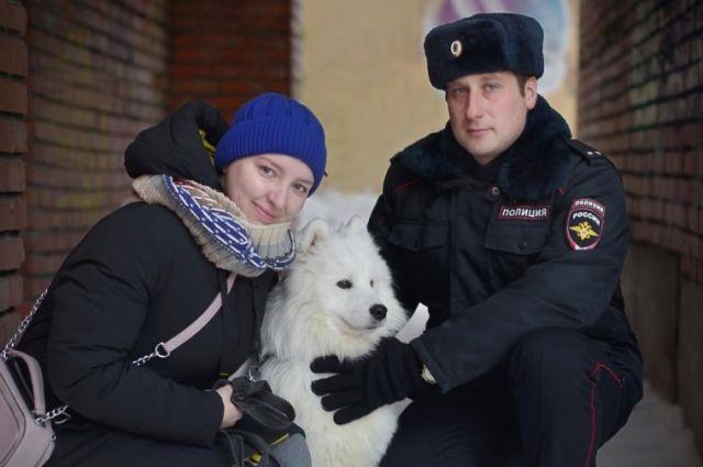 Хозяйка Тедди обратилась со словами благодарности в УМВД России по Томской области.