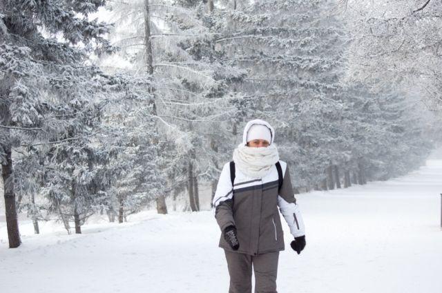 30-градусные морозы продержатся до понедельника.