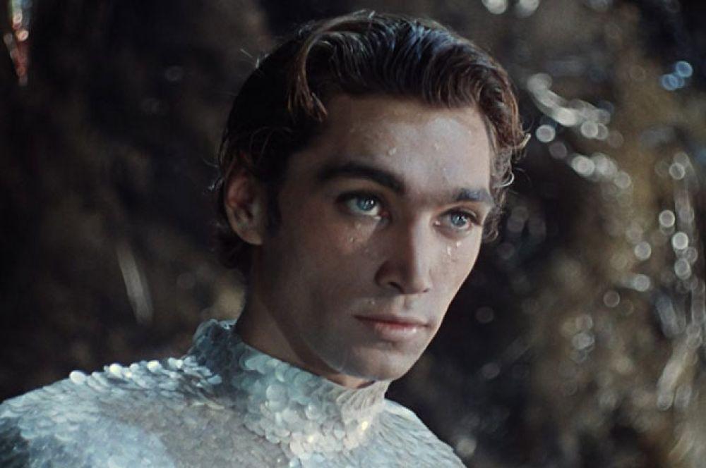 Владимир Коренев в роли Ихтиандра Сальватора, 1961 г.
