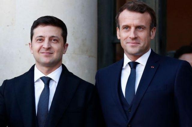 В Офисе президента анонсировали визиты Макрона и Конте в Украину.