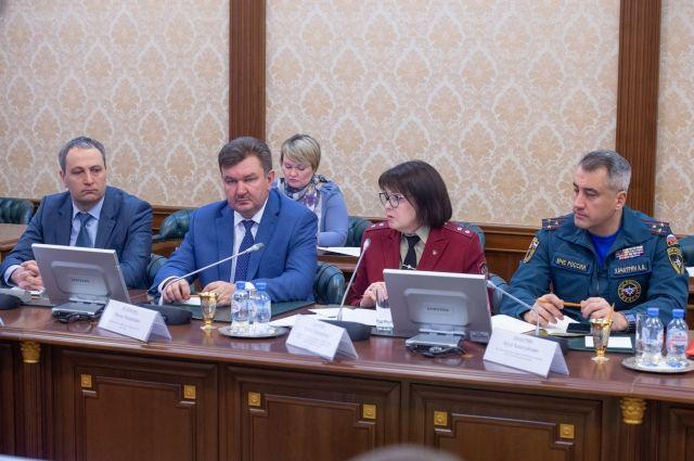 Комитет чрезвычайных ситуаций провел заседание