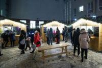 На площади им. Ленина в областном центре уберут новогоднюю ярмарку.