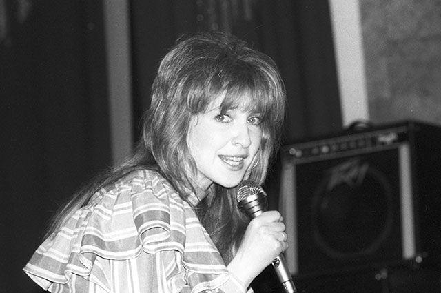 Певица Екатерина Семёнова, 1988 г.