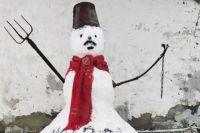 В Беларуси будут судить мужчину, слепившего снеговика с усами