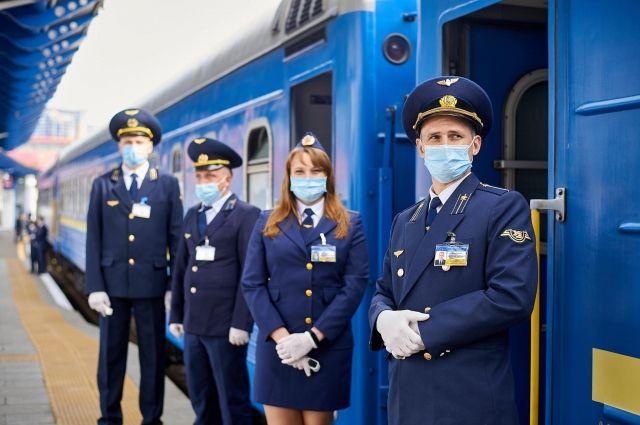 Укрзализныця во время новогодних праздников перевезла 196 тыс. пассажиров