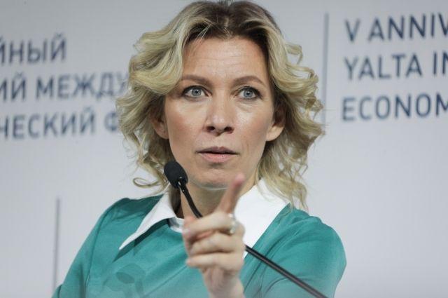 Захарова отреагировала на беспорядки в Вашингтоне | В мире | Политика - Аргументы и Факты – aif.ru