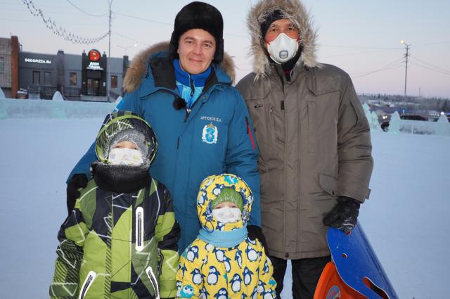 Губернатор Ямала 5 января посетил населенные пункты западной части округа.