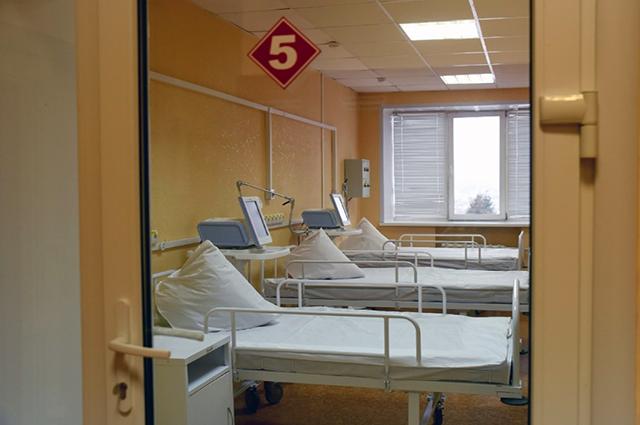В больнице Курска для больных коронавирусом подготовили 206 мест