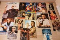 Житель Новосибирска Александр Винюков продает на российских и американских сайтах коллекцию, посвященную рэперу Эминему (Eminem), чтобы собрать деньги на лечение сына своей жены.
