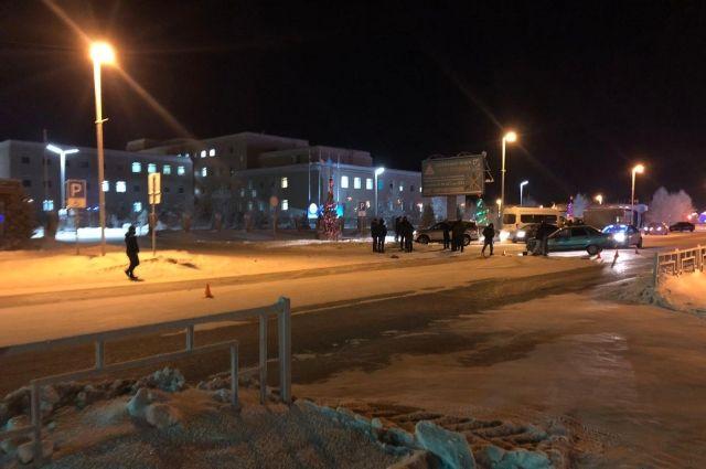 В Губкинском водитель ВАЗа пострадал в столкновении в иномаркой