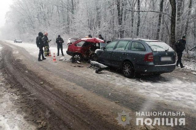 В Хмельницкой области в ДТП попала семья: два человека погибли