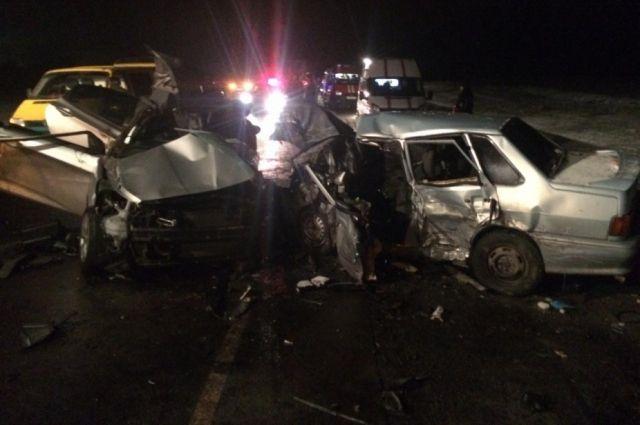Авария унесла жизнь 6 человек.