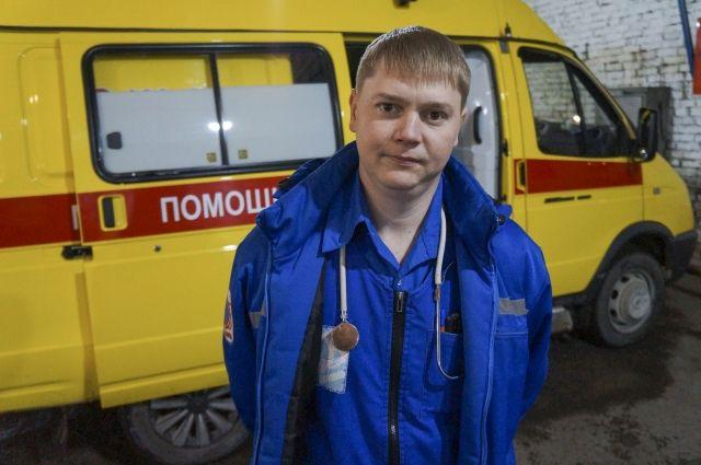 За год молодой врач тюменской скорой помощи спас десять человек