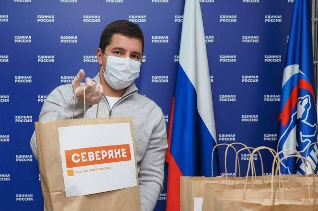 Губернатор Ямала принял участие в акции «Северяне против коронавируса»