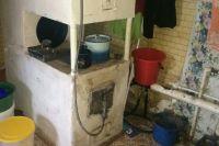 В доме, где погиб ребенок, - печное отопление.
