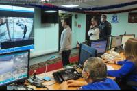 Губернатор Дмитрий Артюхов проверил систему видеонаблюдения в Салехарде