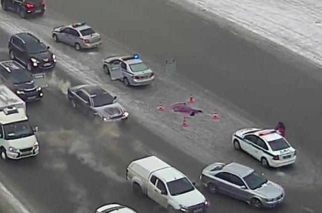 Сразу после ДТП водитель скрылся с места происшествия