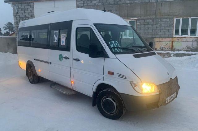 В Ноябрьске десятого января перевозчик выходит на маршрут №28
