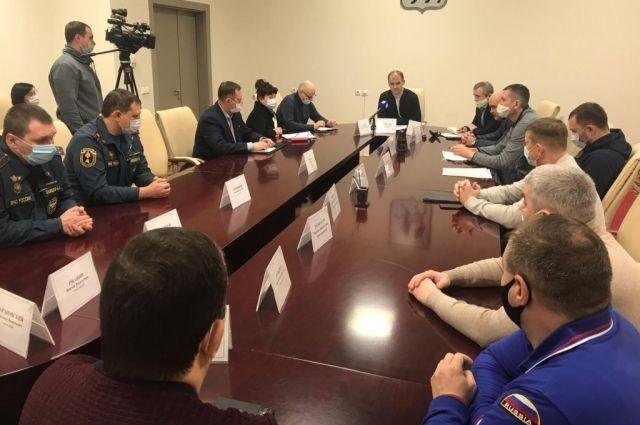В Салехарде состоялось заседание штаба комиссии по чрезвычайным ситуациям