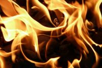 Возгорание произошло 9 января